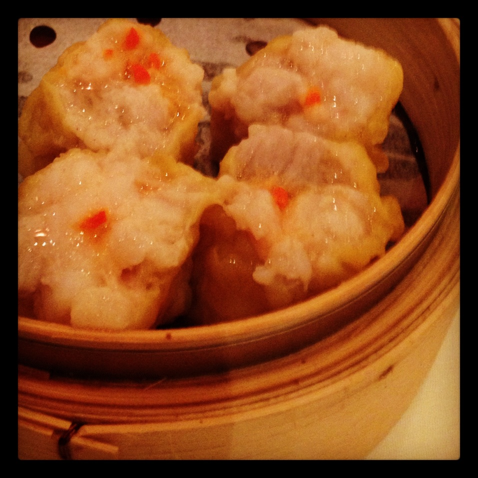 Shiu Mai (minced pork dumplings with shrimp)