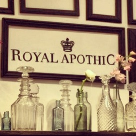 Royal Apothic at Anthropologie