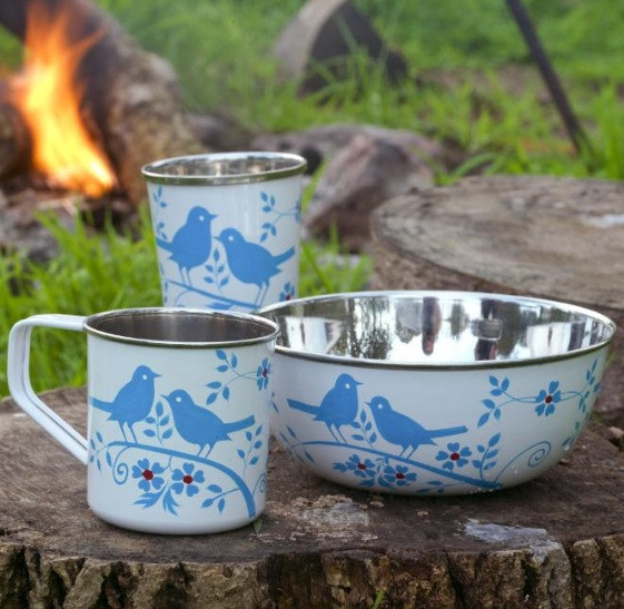 Bird Song Camping Set - £24