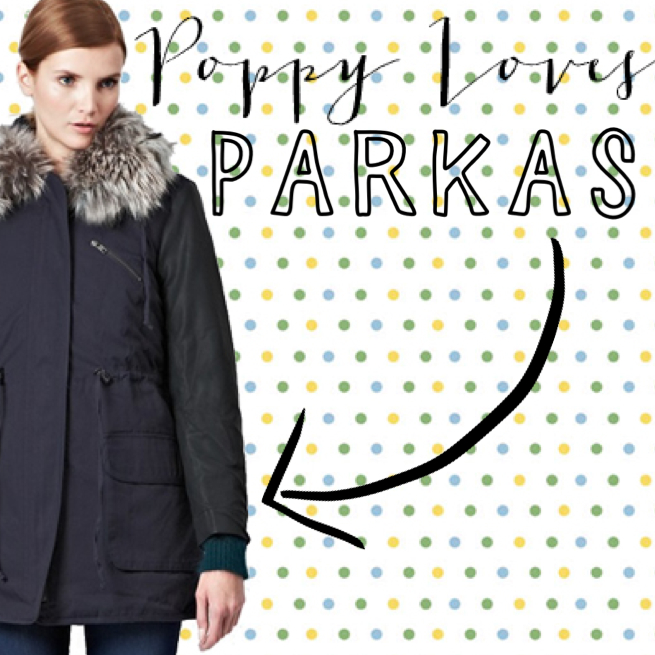 Snow Rhumba Hooded Parka Coat - French Connection - £190