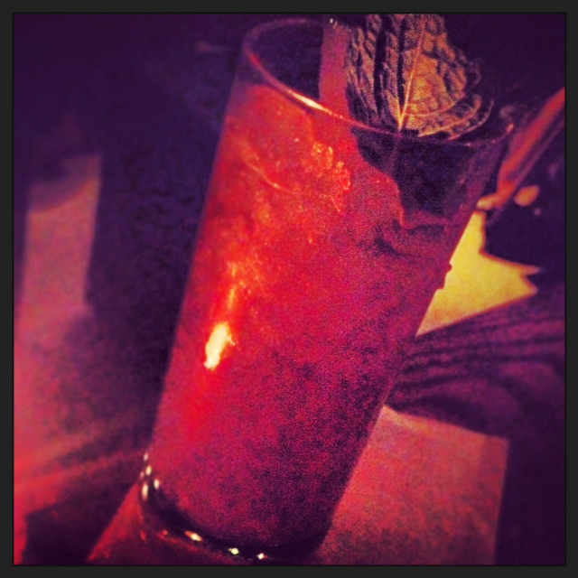 The Silver Swizzle, Rum, lime, sugar, bitters, Velvet Falernum - 'An Island legend. Sweet but full of fire'