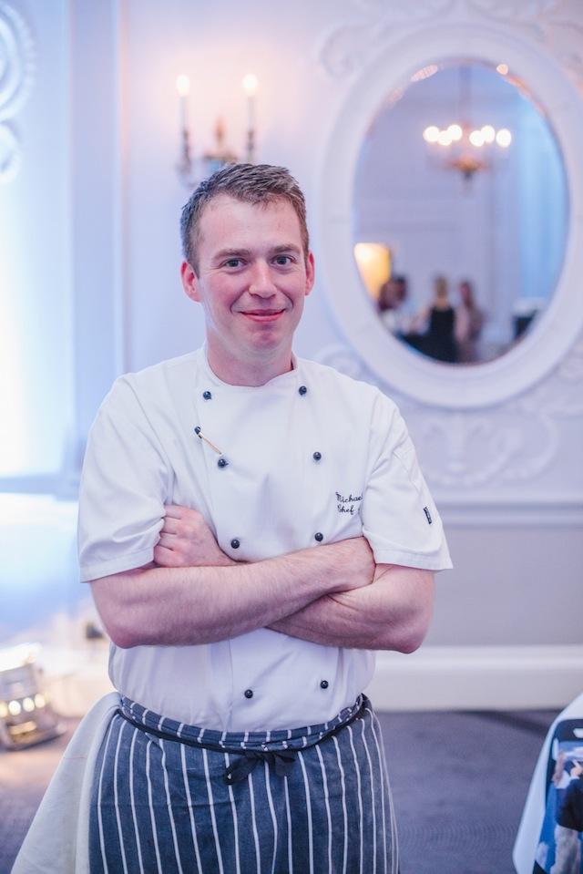 Our amazing chef, Michael Dutnall
