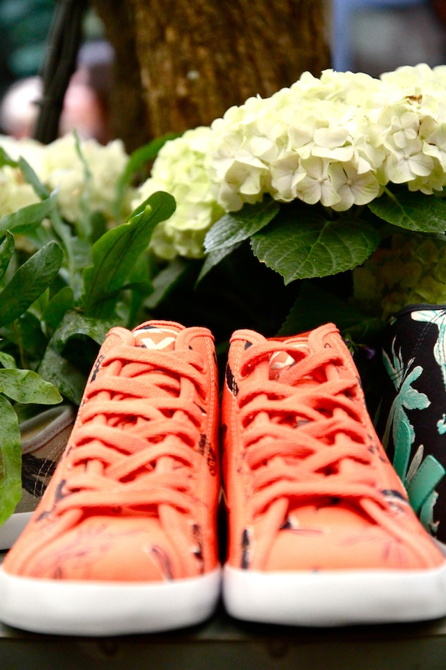 Lily Cole launches Veja footwear
