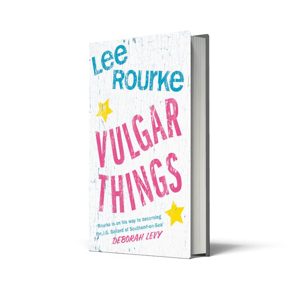 Poppy Loves Book Club - Vulgar Things - Lee Rourke