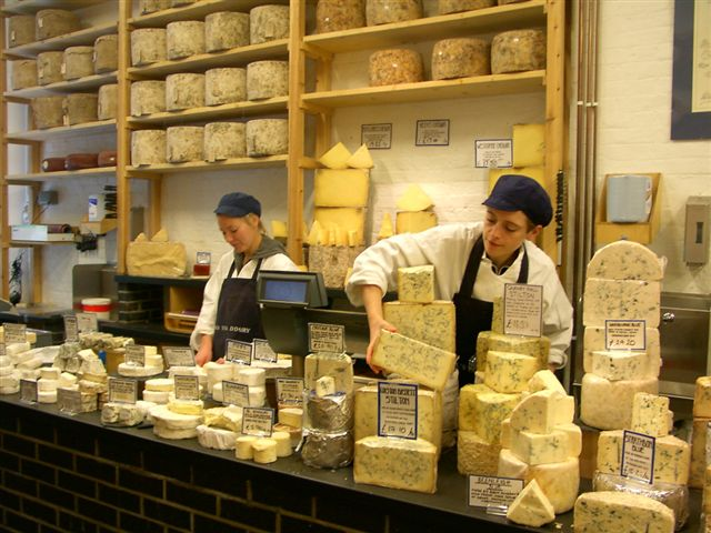 Sherry and Cheese Tasting @ Neal's Yard Dairy | London | United Kingdom