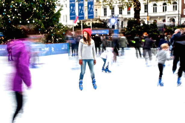 Ice Skating at The Natural History Museum