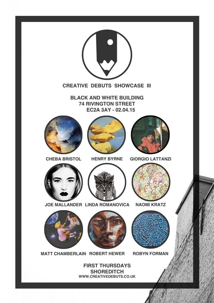 Creative Debuts Showcase III @ Black and White Building | London | England | United Kingdom