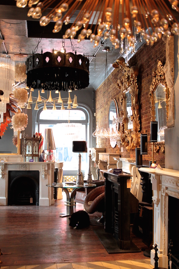 Shoreditch London Uk: Stunning Architectural Salvage In