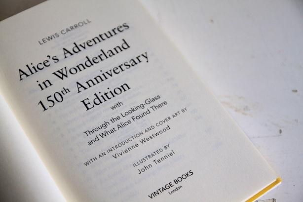 Vivienne Westwood 150th anniversary edition of Alice in Wonderland