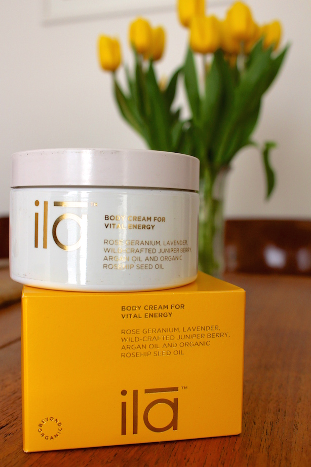 Ila Body Cream Body Cream For Vital Energy