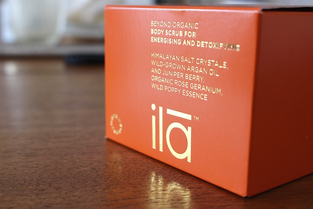 Ila Body Scrub Body Scrub For Energising
