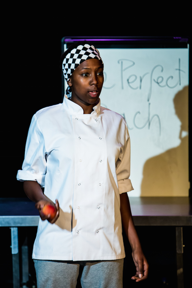 Jade Anouka in Chef. Directed by Kirsty Patrick Ward. Produced by POP