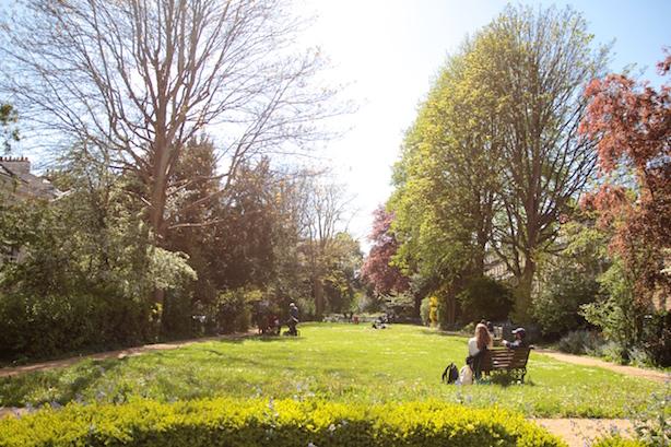 A beautiful public garden in Clifton...