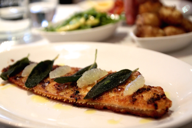 Dover Sole at The Spiny Lobster