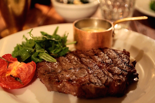 Steak Frites at Hotel du Vin