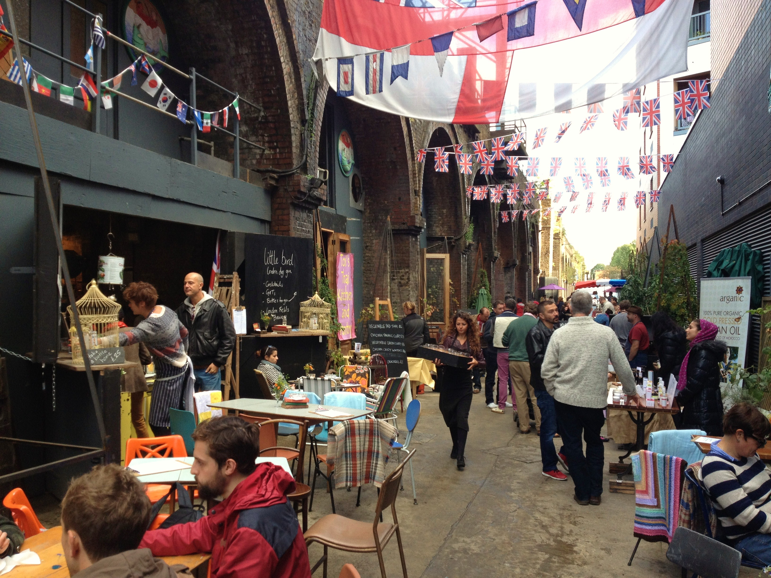 Bermondsey Food Markets