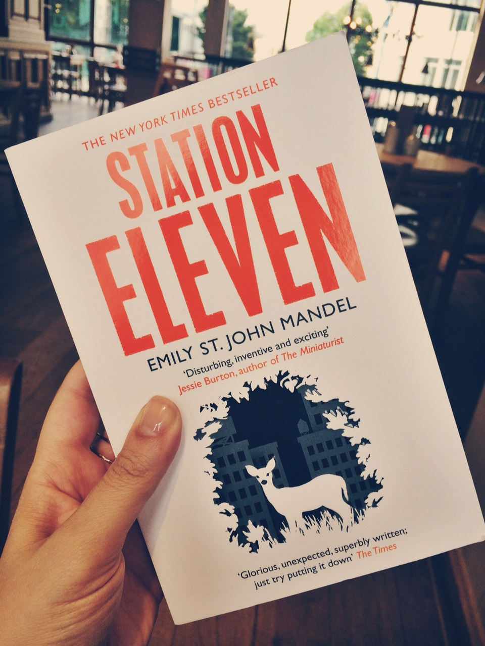 Online Chat Date: Wednesday 26th August 2015, 7:30pm €� 9pm, Uk Time Our  Next Book: Station Eleven By Emily St John Mandel, Published By Picador