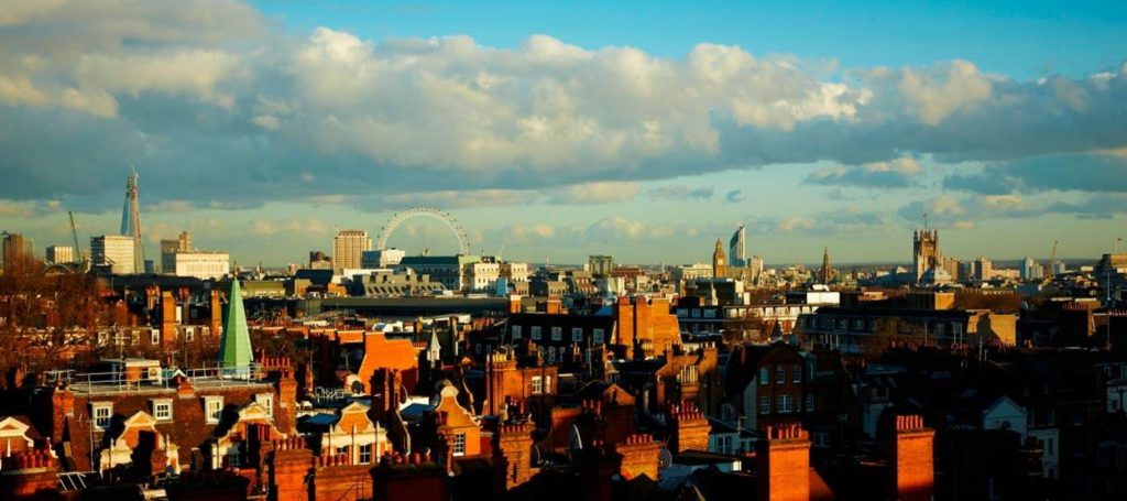 The view from the Grosvenor House Apartments