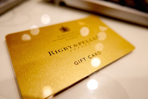 Rigby and Peller gift card