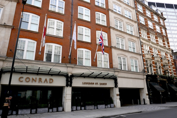 A Valentine S Staycation At Conrad London St James