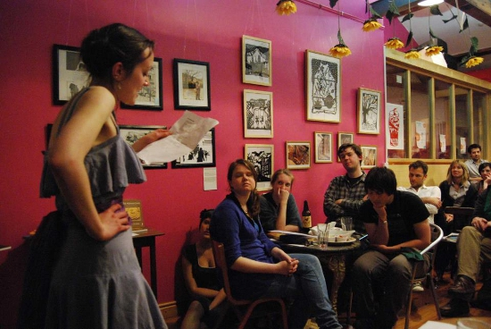 Poetry Cafe Open Mic