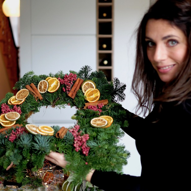 Make Christmas Wreath Workshop