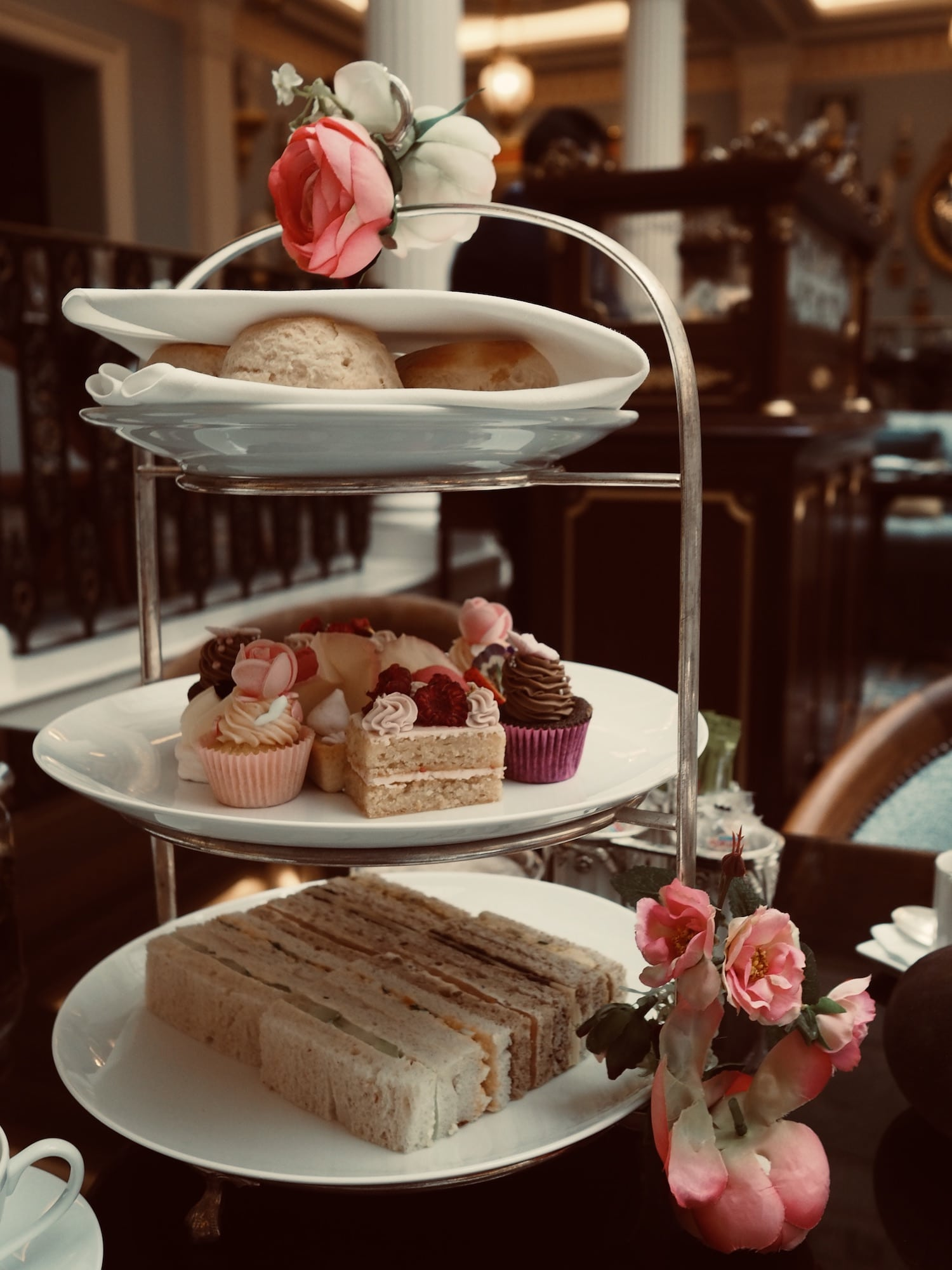 Afternoon tea at Lanesborough